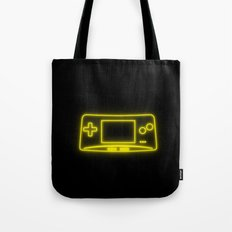 Neon Game Boy Advance Micro Tote Bag