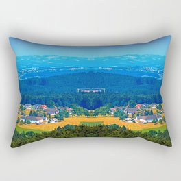 One summer day in the highlands Rectangular Pillow