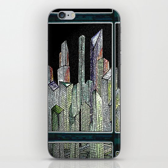 Room with a view iPhone & iPod Skin