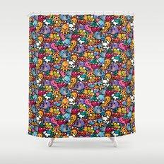 Sea pattern 02 Shower Curtain