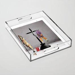 Say Hello To Heaven Acrylic Tray