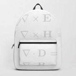 And God Said Maxwell Equation Backpack