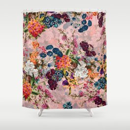 Summer Botanical Garden VIII - II Shower Curtain