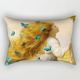 Unfurling Glory Rectangular Pillow