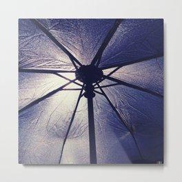 Carbrella Metal Print