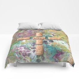 Cork Cross Comforters