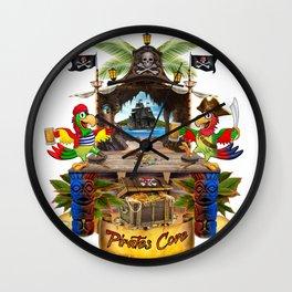 Pirates Cove Wall Clock