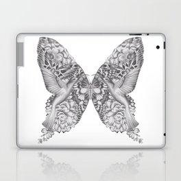 FLOWERS, FEATHERS & FLUTTERS Laptop & iPad Skin