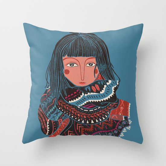The Nomad Throw Pillow