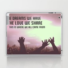 Pretty Lights Inspiration Laptop & iPad Skin