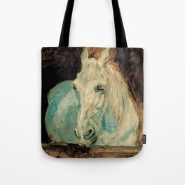 The White Horse Gazelle - Henri Toulouse-Lautrec Tote Bag