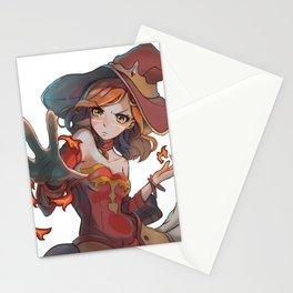 Lina Inverse Manga Style Stationery Cards