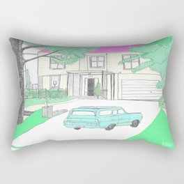 The Virgin Suicides I Rectangular Pillow