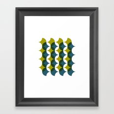 #545 What is so bad about sixties wallpaper? – Geometry Daily Framed Art Print