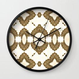 Golden Decent Wall Clock