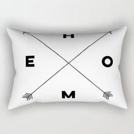 Modern Home Arrow Print Rectangular Pillow