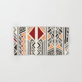 Tribal ethnic geometric pattern 034 Hand & Bath Towel