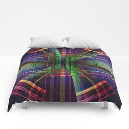 Plaid Movement 001 - Geometric - Unique Plaid - Colorful Plaid Comforters