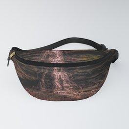 Tintagel beach waterfall Fanny Pack