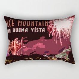 Fireworks Over Lake Buena Vista Rectangular Pillow