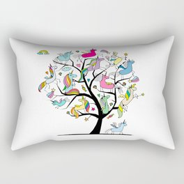 Unicorns Rectangular Pillow