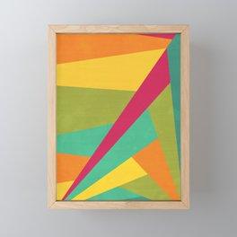 Flashing Lights Framed Mini Art Print