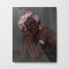 Elf Princess Metal Print