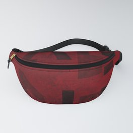 Cabernet Wine Typography Fanny Pack