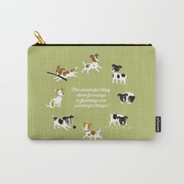 Farmdogs are wonderful things Carry-All Pouch