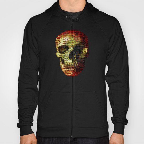 Opportunistic Species (P/D3 Glitch Collage Studies) Hoody
