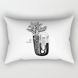 The tuba Rectangular Pillow