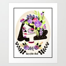 Day of the Beautiful Dead  Art Print