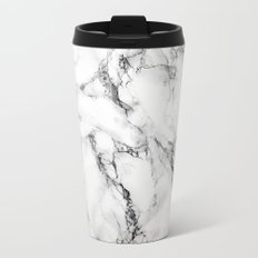 Marble #texture Metal Travel Mug