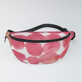6   | 190408 Red Abstract Watercolour Fanny Pack