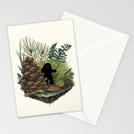 Tiny Sasquatch Stationery Cards