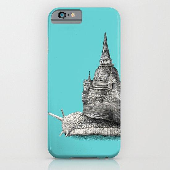 The Snail's Dream (monochrome option) iPhone & iPod Case