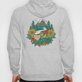 Pacific Northwest Coffee and Nature Hoody