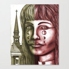 The Church 1 Canvas Print