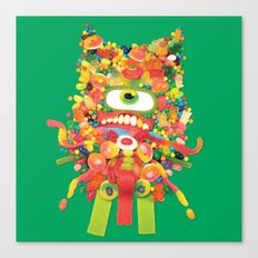 Sweet Monster Canvas Print