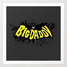 Big Daddy Splash logo Art Print
