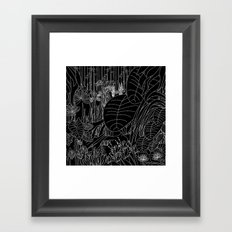 Jungle Pop Framed Art Print