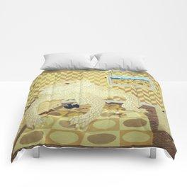 Horned Lizard Comforters