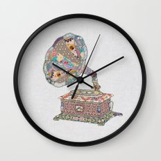SEEING SOUND Wall Clock