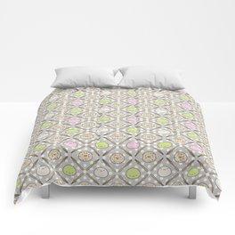 Mochi Kochi | Pattern in Grey Comforters