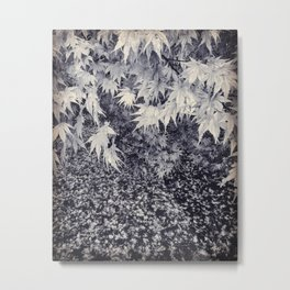 Infinity Maple Leaves, Fall, Autumn Trees Metal Print