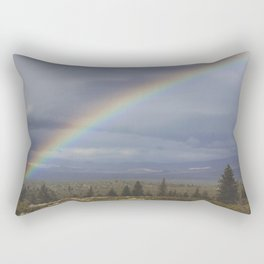 Rainbow Half Rectangular Pillow