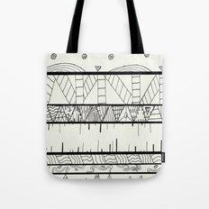 Pentastic Pattern Tote Bag