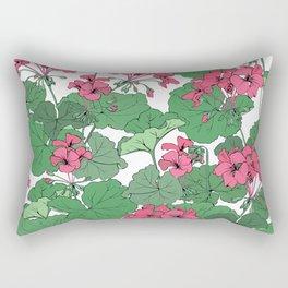 Pelargonium flowers Rectangular Pillow