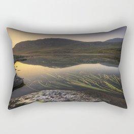 Tryfan Mountians Rectangular Pillow