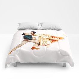 Gene Kelly and Cyd Charisse - Brigadoon Comforters